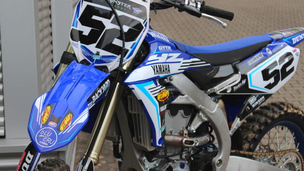 News backyard design for Yamaha yzf 450
